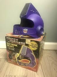 Rare Vintage G1 <b>Transformers Autobot</b> Electronic Child's <b>Helmet</b> ...