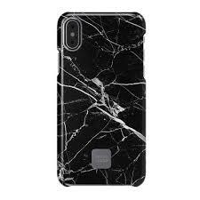"""Защитный <b>чехол</b> для iPhone X """"Slim case"""" Black Marble, черный ..."""