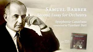 samuel barber second essay for orchestra samuel barber second essay for orchestra