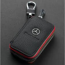 Genuine Cowhide Leather Men & Women <b>Car</b> Key Bag Wallet <b>Multi</b> ...