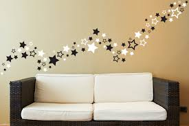 Star Bedroom Decor Mirrored Stars Wall Decor Double Ringed Texas Star Dcor Luvskcom