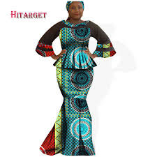 <b>Hitarget 2019 New African</b> Fabric Ghana Print Plus Size African 2 ...