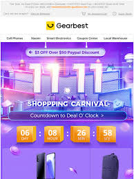 Gearbest IT: (Here's Your Invitation) Hey, Join Our 11.11 Party to ...