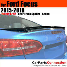 Primer ABS <b>Rear Trunk Spoiler</b> Wing For 2008-2011 Ford Focus ...