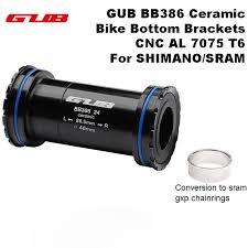 GUB BB 386 Ceramic <b>Bicycle Bottom</b> Brackets Axle for <b>MTB Road</b> ...