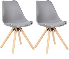 WOLTU <b>Dining Chairs</b> Set of <b>6 pcs</b> Kitchen Counter Chairs Lounge ...