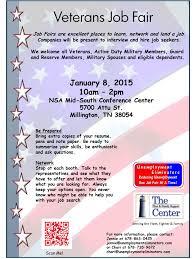 veterans job fair in millington job career news from veterans job fair 1 8 15