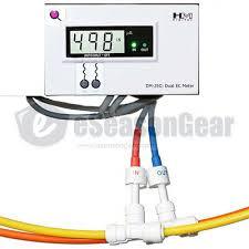 <b>HM Digital DM-2EC</b> **EC** Commercial In-Line Dual Monitor/Meter ...