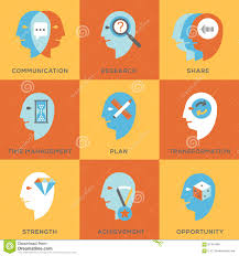 human skills set stock photos images pictures images work skills icon set royalty stock photo