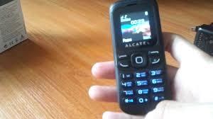 Один из дешевых <b>телефонов</b>. <b>ALCATEL One</b> touch 232 - YouTube