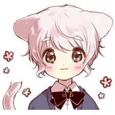 <b>Cute cat</b> ear boy – LINE stickers | LINE STORE
