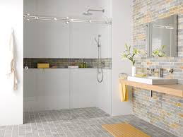bathroom niches:  pictures  bathroom with niche on full length shower wall niche niche tiled in feature wall