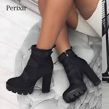<b>Perixir Women Shoes</b> High Heel Sandals Ankle Wrap Buckle Strap ...