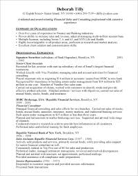 executive mortgage resume  resume sample chief financial officer
