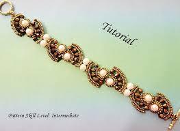 TAIPAI <b>beaded</b> bracelet <b>beading</b> tutorial beadweaving pattern <b>seed</b> ...