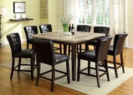 tall dining chairs counter: modern counter height dining table high dining table