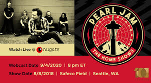 <b>Pearl Jam</b> live from 8 18 2018 Safeco Field, Seattle, WA on nugs.tv