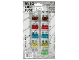 <b>10</b>-<b>PC</b> CAR FUSE SET (7.5-<b>30A</b>) - Irish Electronics.ie