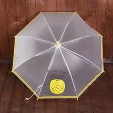 """<b>Зонт</b> детский """"<b>Ананас</b>"""", полуавтоматический, r=45см, цвет жёлтый"""
