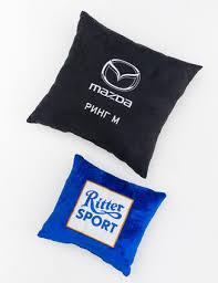 <b>Черная подушка</b> - купить оптом в Москве, под нанесение логотипа