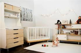 image of modern nursery contemporary funky nursery furniture
