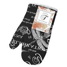 <b>Прихватка</b>-рукавица Ирисы размер: 18х28см рогожка сиреневый ...