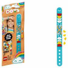 Купить <b>конструктор lego dots</b> 41900 браслет радуга в интернет ...