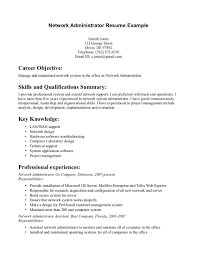 doc8491099 resume how to write computer skills cover letter network administrator