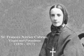 Catholic Quote of the Day — from St. Frances Xavier Cabrini : The ...