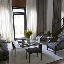 chic mirrored chest of drawers in living room contemporary with drapes curtains next to elegant curtains alongside business office and floor to ceiling chic living room curtain