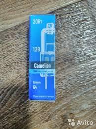 <b>Лампочки Camelion</b> JC 20W <b>G4</b> купить в Ростовской области на ...