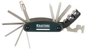 Набор <b>KRAFTOOL</b> для обслуживания велосипеда 16-в-1 <b>26182</b> ...