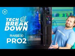 The <b>Raise3D Pro2</b> Plus Massive Dual Extrusion 3D Printer // Product ...