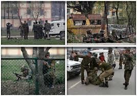 ஸ்ரீநகர் தீவிரவாதிகள் தாக்கியதில் 5 ராணுவவீரர்கள் பலி