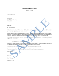 final warning letter sample lawpath what does the final warning letter cover