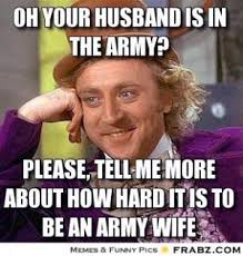Army Wife Jokes | Kappit via Relatably.com