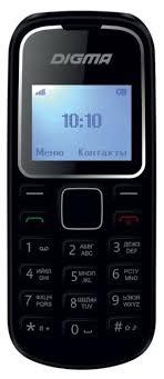 <b>Сотовый телефон DIGMA</b> Linx A105 2G Black