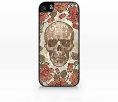 Floral skull, vintage, antique-iphone 4 case, iphone 4s ... - Amazon.com