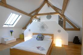 architecture attic bedroom rustic converted barn home design with white interior color decorating ideas sloping bedroom converted home