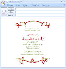 annual holiday party invitation template ctsfashion com template holiday party invitation template