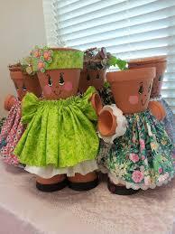 <b>Декоративные фигурки</b> из цветочных <b>горшков</b>: идеи для ...