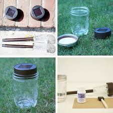 diy mason jar solar light ball mason jar solar lights