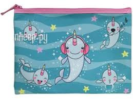 <b>Папка Berlingo</b> Whale Unicorn <b>A4</b> FBA4_011