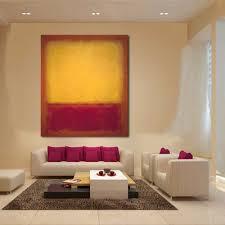 JQHYART <b>Mark Rothko</b> Classical Still Life Oil <b>Painting</b> Living <b>Room</b> ...