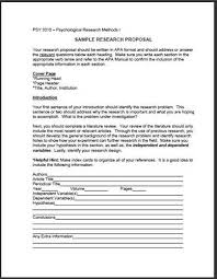 thesis paper example outline How Can We Help  A research proposal