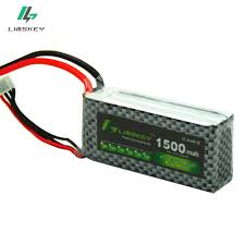 Limskey Drone <b>3S 11.1V 1500MAH Lipo Battery</b> For Helicopter ...