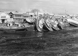 「1960年 チリ地震津波」の画像検索結果