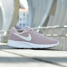 Womens <b>Nike Tanjun</b> Particle Rose/White