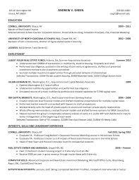 investment bank resume s banking lewesmr sample resume resume template sle banking investment banker