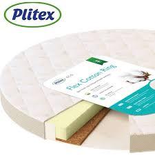 Круглый <b>матрас Plitex Flex</b> Cotton Ring купить в интернет ...